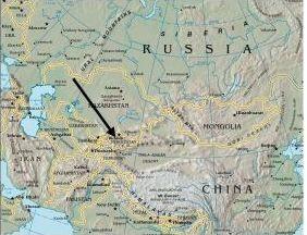 Kyrgyzstan Map-1